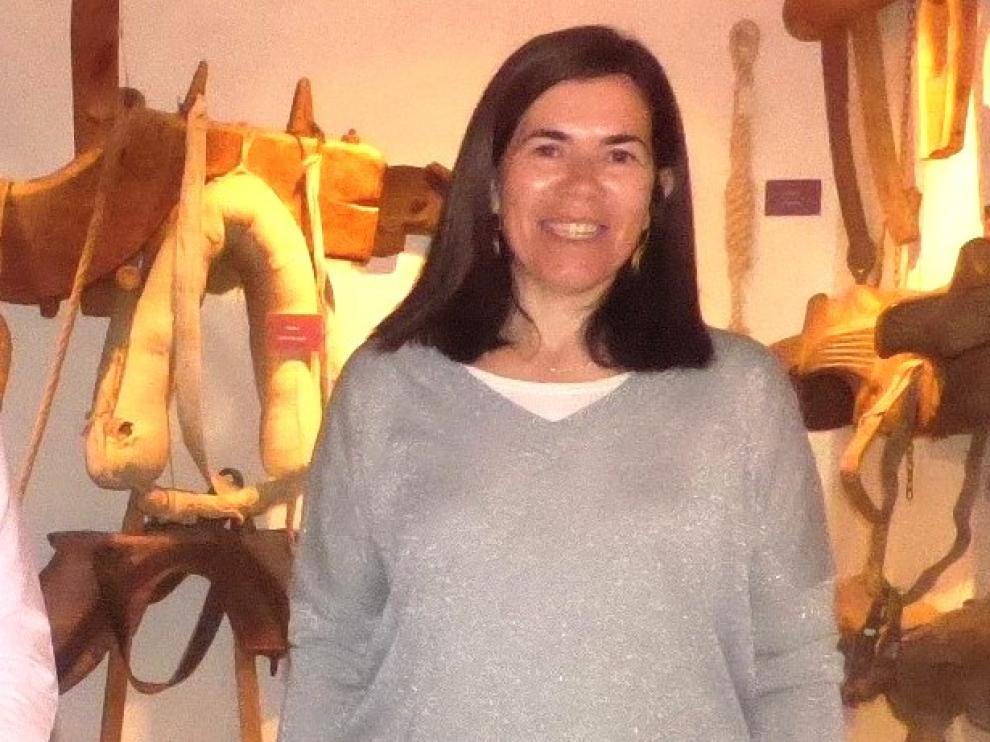 """Begoña Subías: """"Aquí se expone la memoria de esta comarca vaciada"""""""