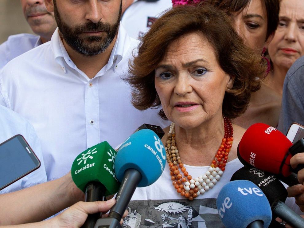 "Calvo acusa a Podemos de lanzar un ""órdago impositivo"" con su última oferta"