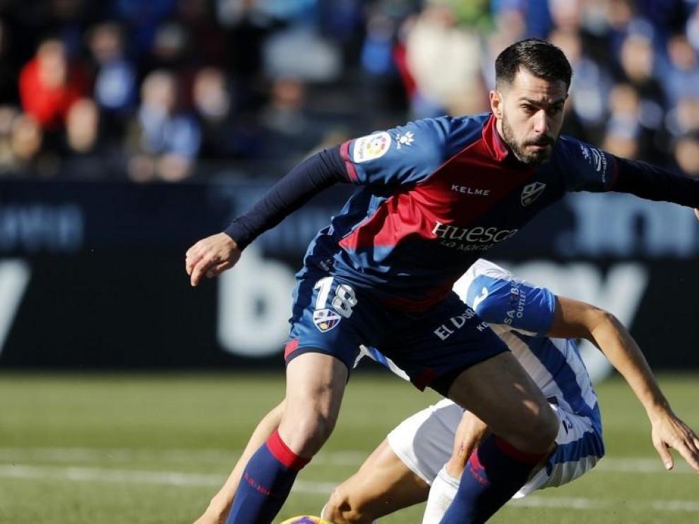 Pablo Insua regresa al Huesca