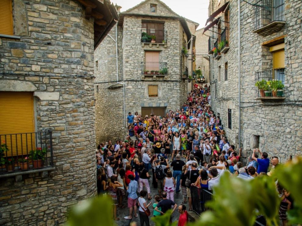 El Palotiau abre este jueves por la tarde las fiestas de la Convivencia en Boltaña
