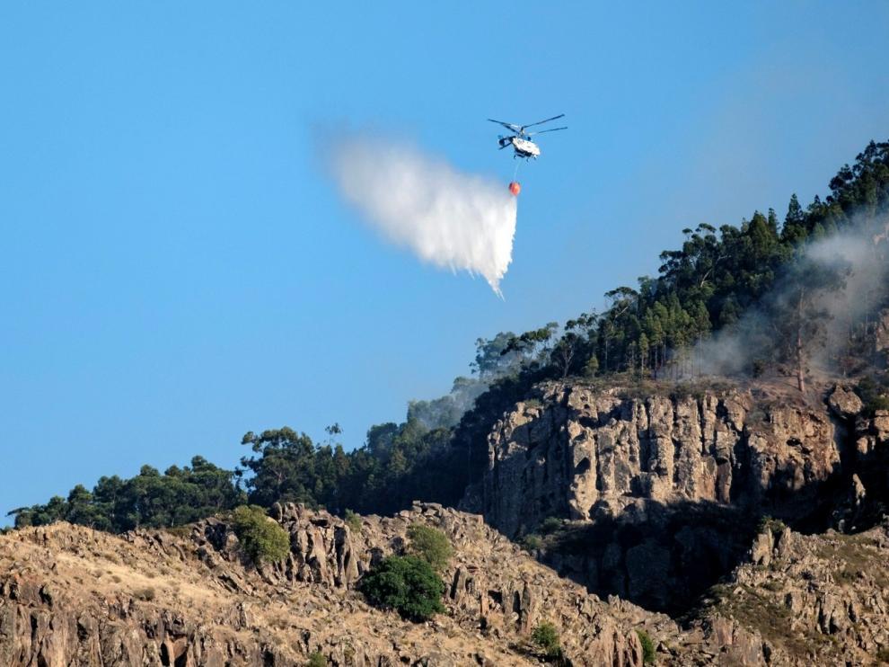 Controlado el incendio de Gran Canaria tras cinco intensos días