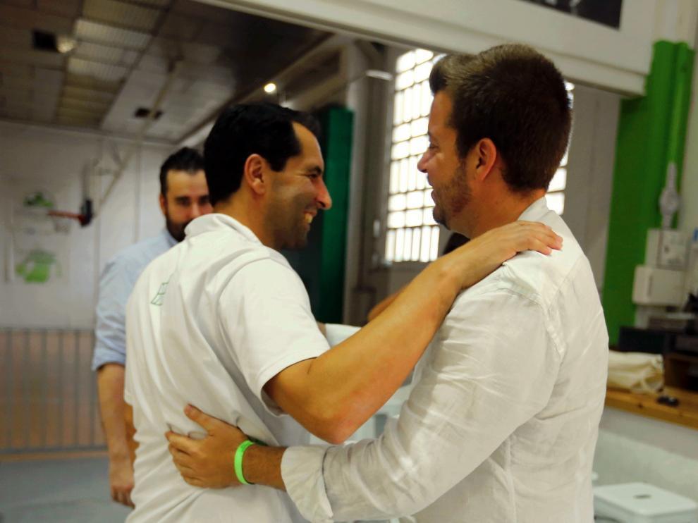 """Antonio Orús pide """"compromiso, trabajo y humildad"""" a la plantilla"""