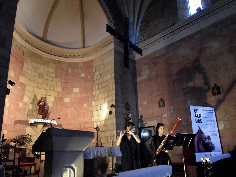 "El dúo Gavarnie Ensemble estrena ""Summer music"" en Zaragoza"