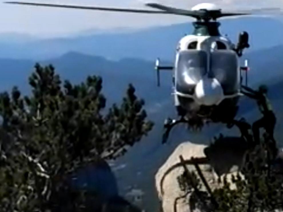 La Guardia Civil auxilia en los picos Aneto y La Moleta a dos montañeros