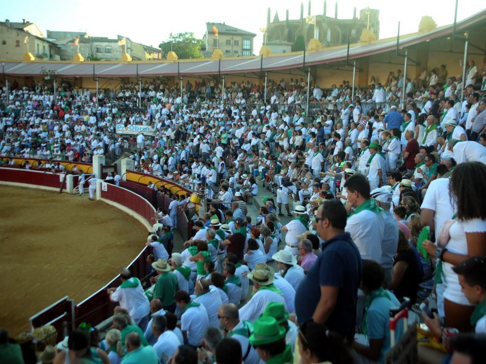 Tauroemoción recurre el pliego de la feria de Huesca