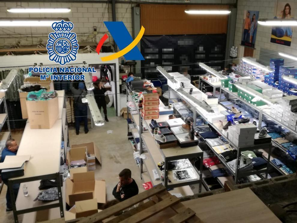 En Aragón se incautaron 12.145 objetos falsificados en 2018