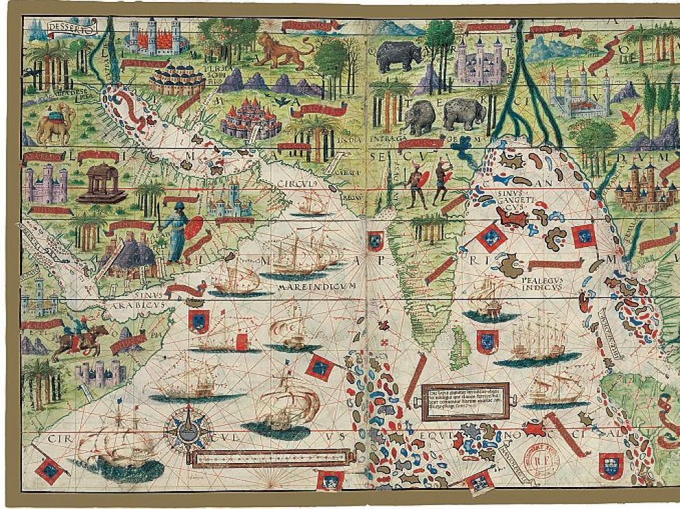 Atlas y códices de los 40 años que cambiaron el mundo