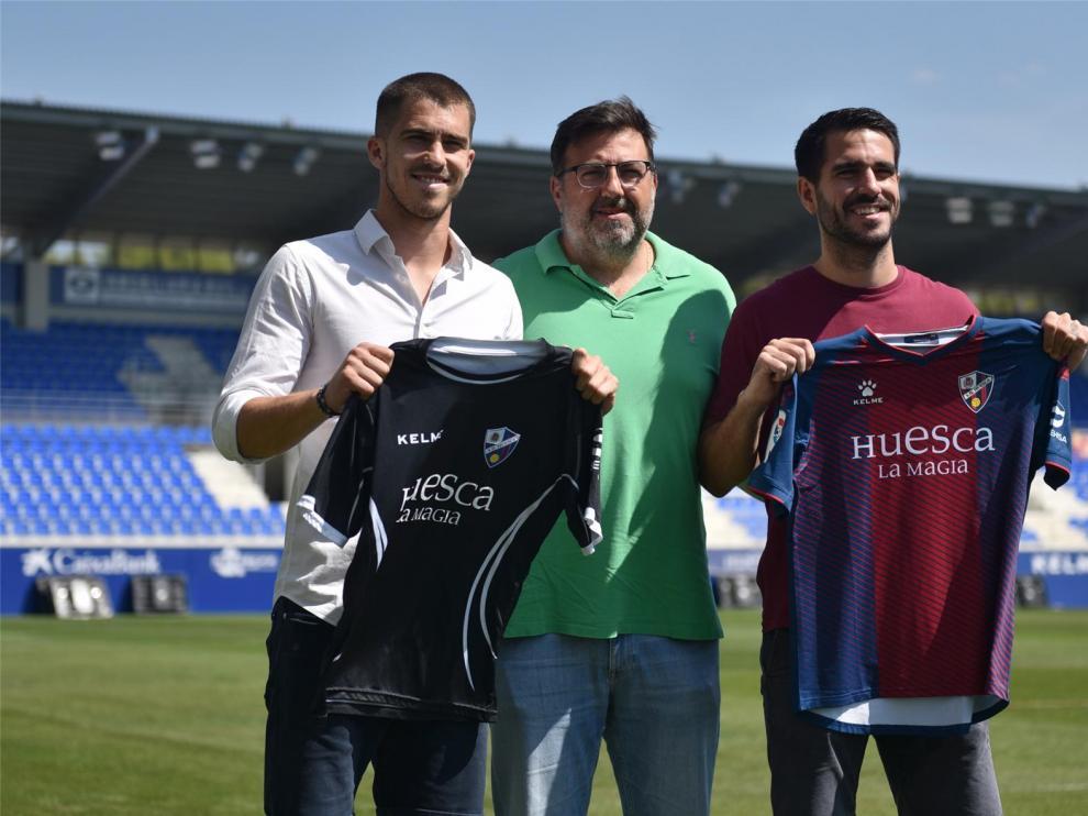 """Insua y Yáñez, atraídos por el """"proyecto sólido e importante"""" del Huesca"""