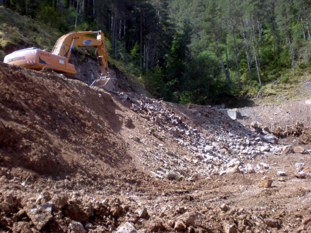 La DPH inicia las obras del acceso a Espés con más de un millón de euros de inversión