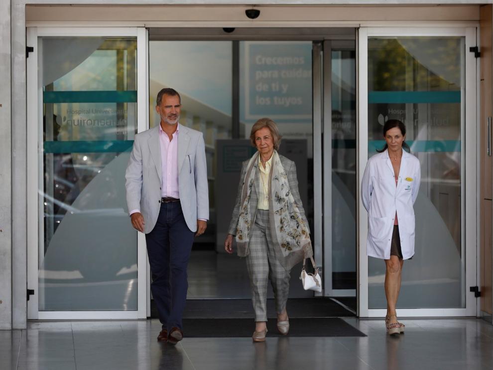 El Rey Juan Carlos, operado con éxito al realizarle tres bypass