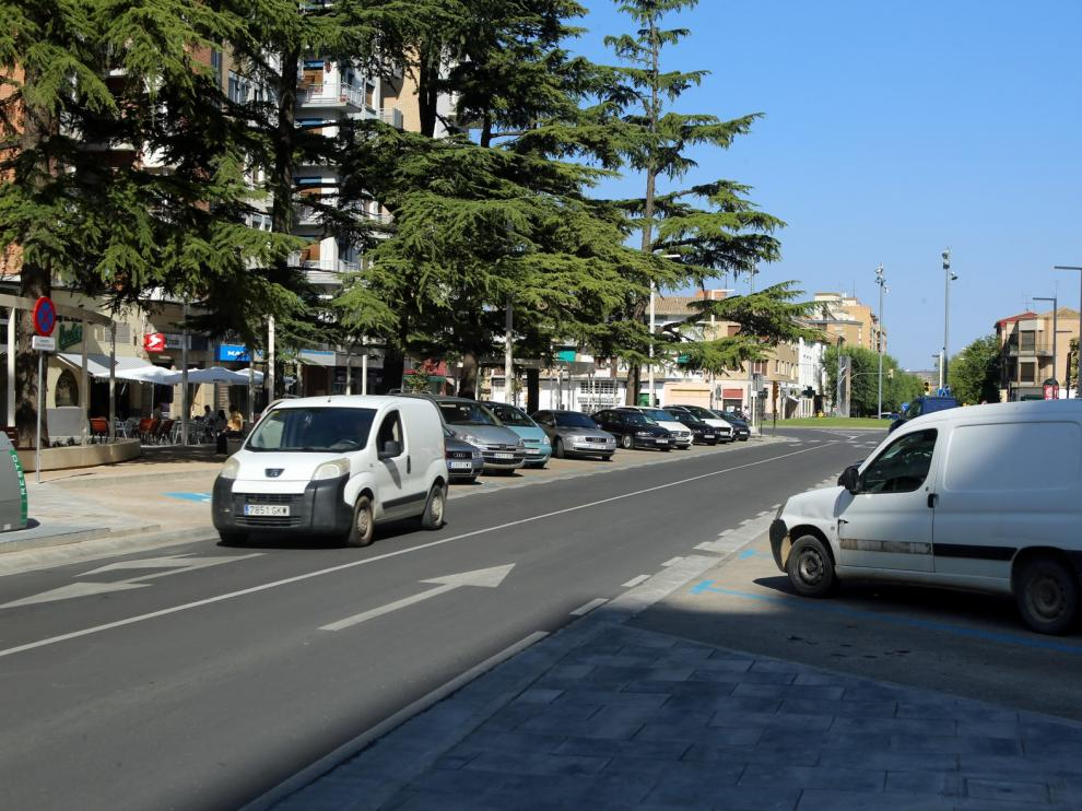 Osca XXI pide mejorar la accesibilidad vial con motivo de las obras del Coso y Ramón y Cajal