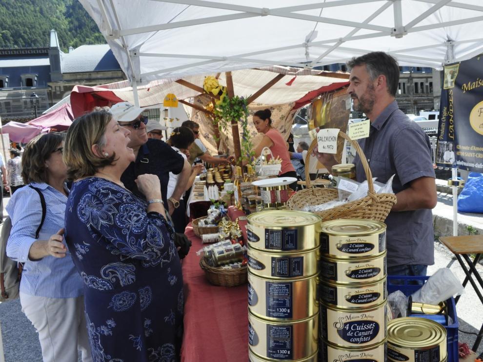 Canfranc Estación ofrece un surtido de delicias del Pirineo