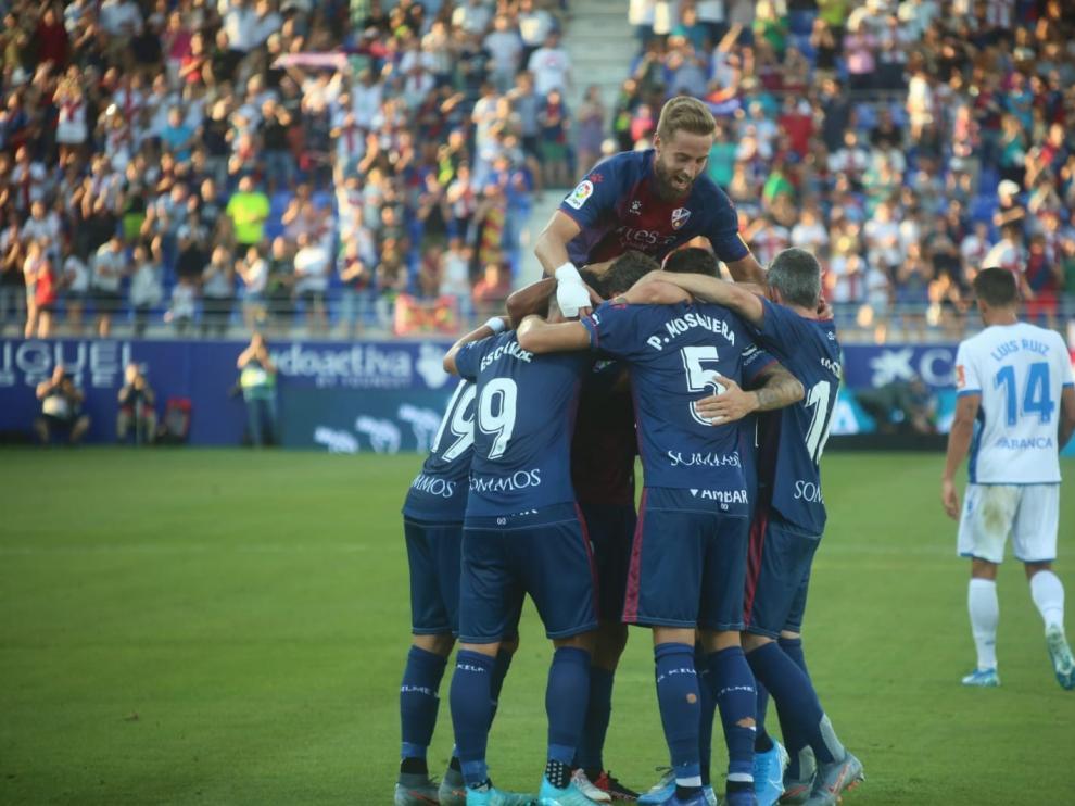 El Huesca se gusta en El Alcoraz (3-1)