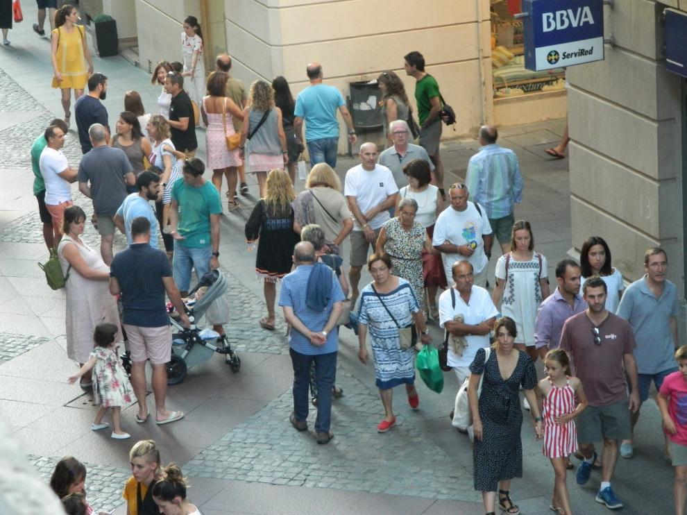 En la provincia de Huesca aumentó en julio el número de visitantes respecto a 2018