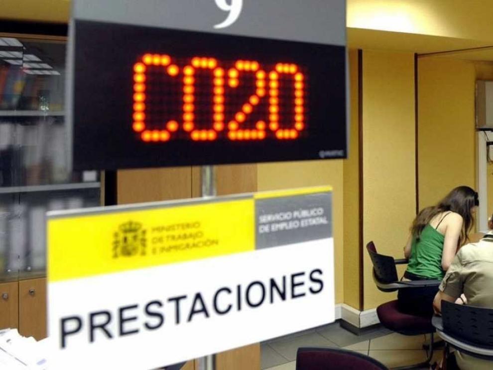 Los datos del desempleo registrado en Huesca se estabilizan