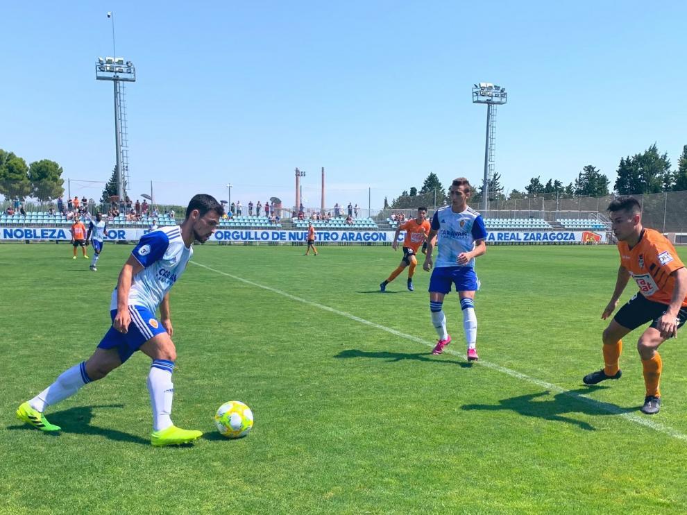 El Binéfar recibe un set en blanco del Deportivo Aragón
