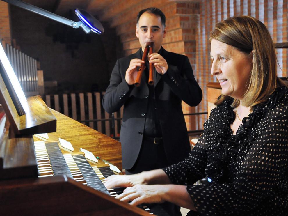 Tubos y flautas se unen en el Ciclo de Órgano de Torreciudad