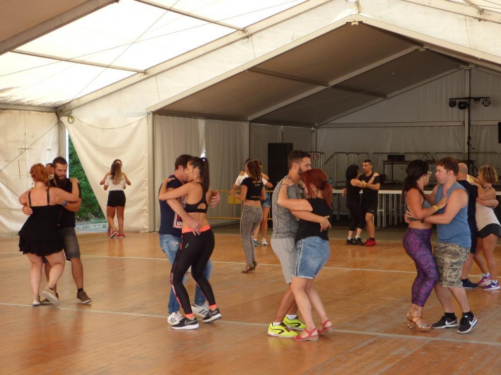 Pirineos Salsa Festival, un lustro de éxitos y público