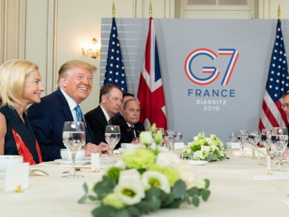 Trump dice que China quiere volver a la mesa de negociación