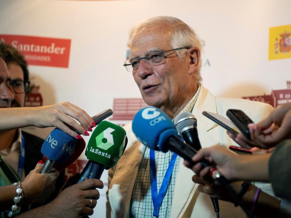 """Borrell: """"Es evidente que PSOE y Podemos no tienen el mismo punto de vista en todo"""""""