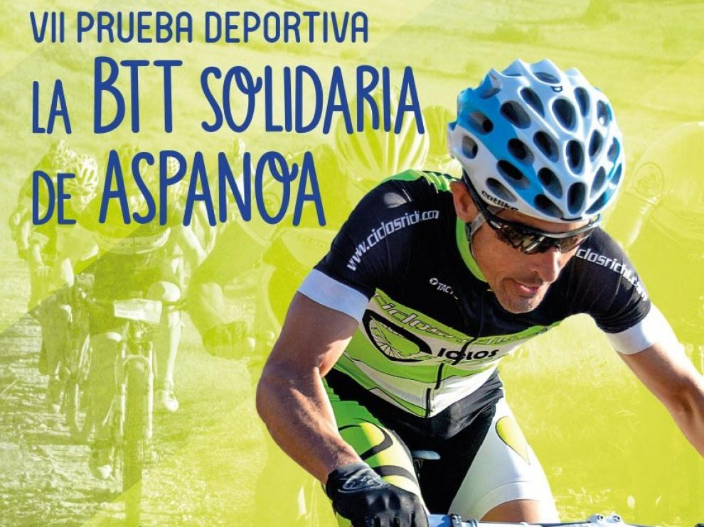 La VII BTT de Aspanoa se celebra el 28 de septiembre