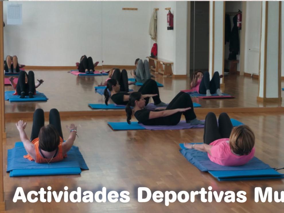 Publicados los listados de admitidos en las actividades deportivas municipales de Huesca