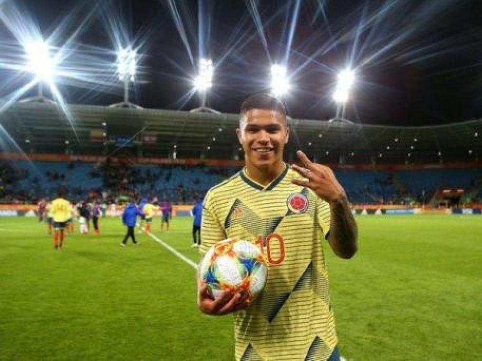 Cucho Hernández jugará cedido en el Mallorca hasta junio de 2020