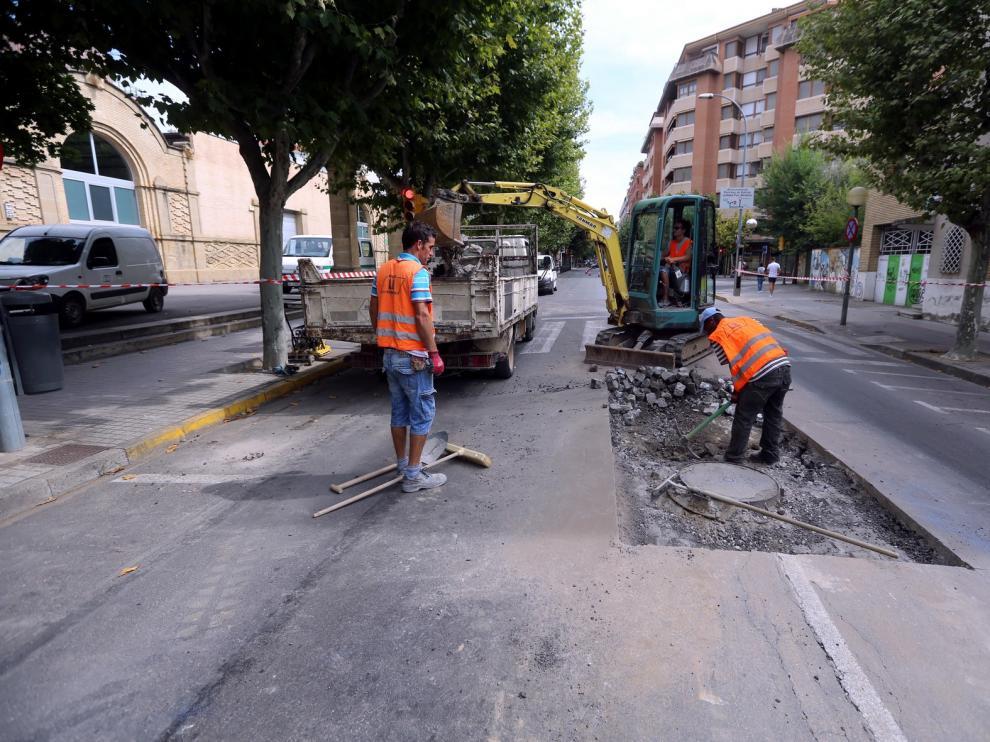 Restricciones al tráfico en Martínez de Velasco