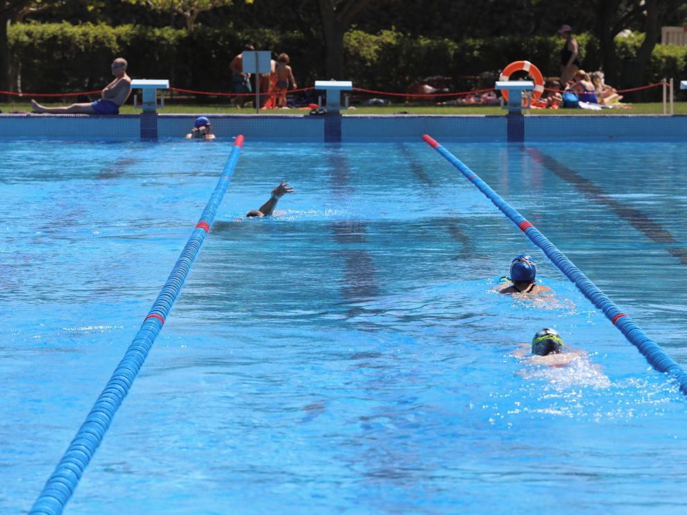 Las piscinas de Huesca registran 85.000 usos, una cifra inferior a años anteriores