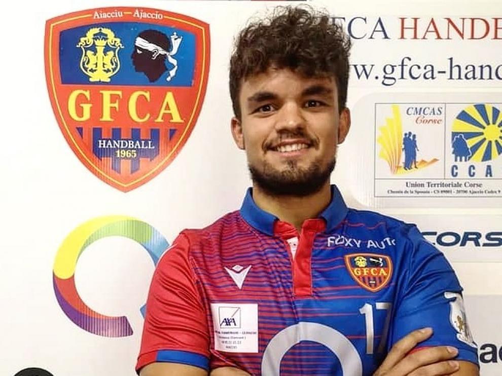 Lucas Abadía ficha por el GFCA Handball Córcega