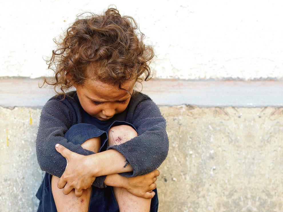 Casi uno de cada tres niños siguen en riesgo de pobreza