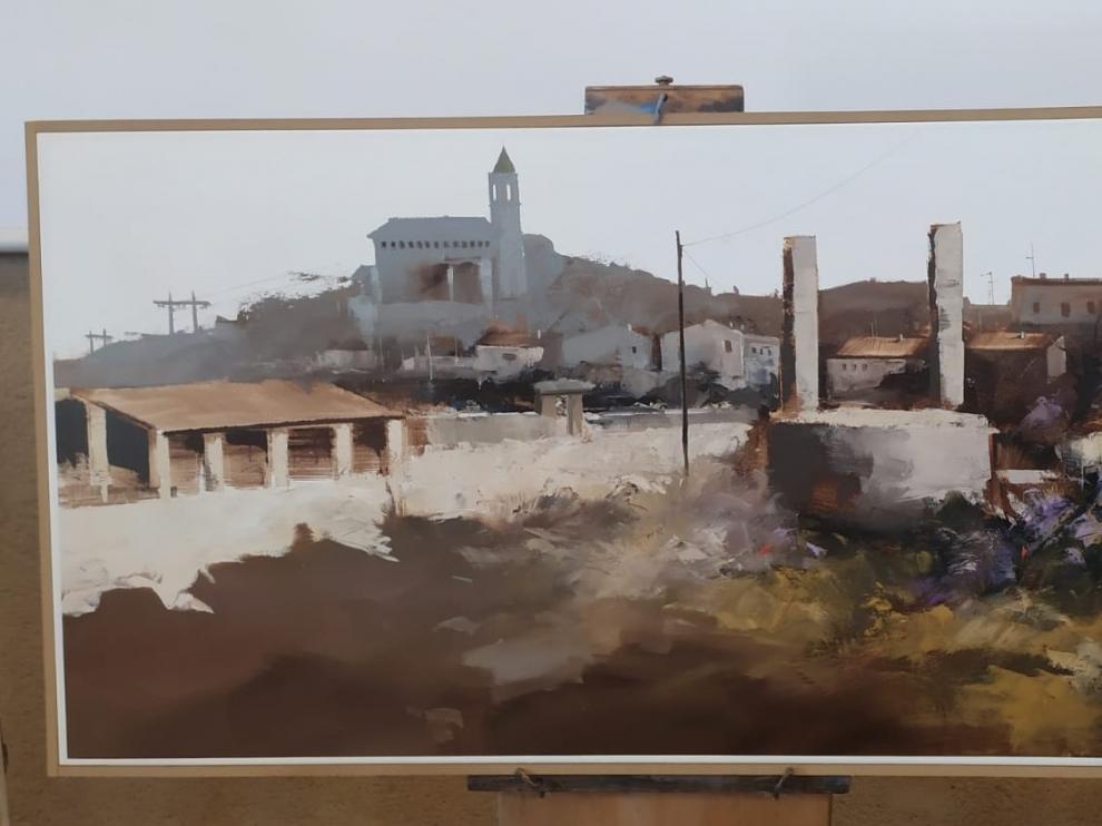 Millás gana el Concurso de Pintura Rápida de Laperdiguera