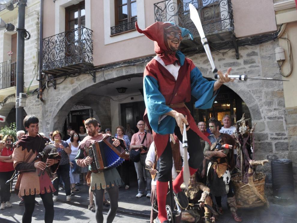 El Mercado Medieval de Jaca ofrece su pregón inaugural