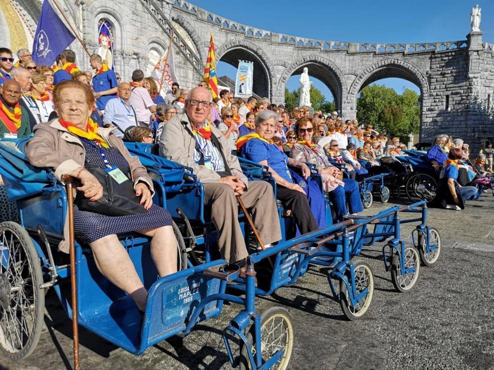 Un grupo de 260 personas participa en la XXIV peregrinación a Lourdes