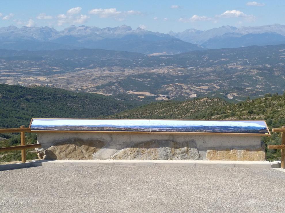 Panorámica del Pirineo oscense