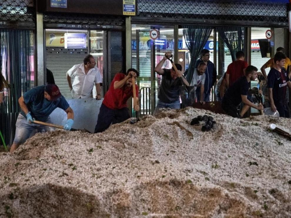 El 112 de Madrid atendió 1.434 sucesos relacionados con las tormentas entre las 16 y las 24 horas de este lunes