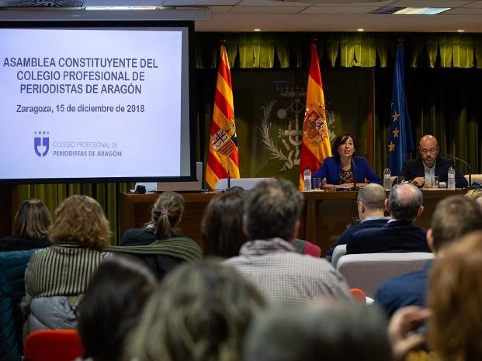 El Gobierno de Aragón autoriza los estatutos del Colegio Profesional de Periodistas