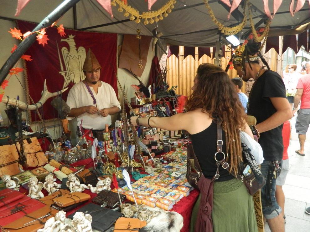 Cristianos, judíos y musulmanes vuelven a convivir en Jaca gracias al Mercado Medieval
