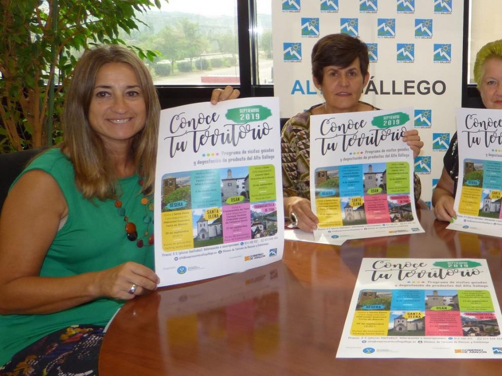 """""""Conoce tu territorio"""" impulsa el turismo y la agroalimentación en la comarca del Alto Gállego"""