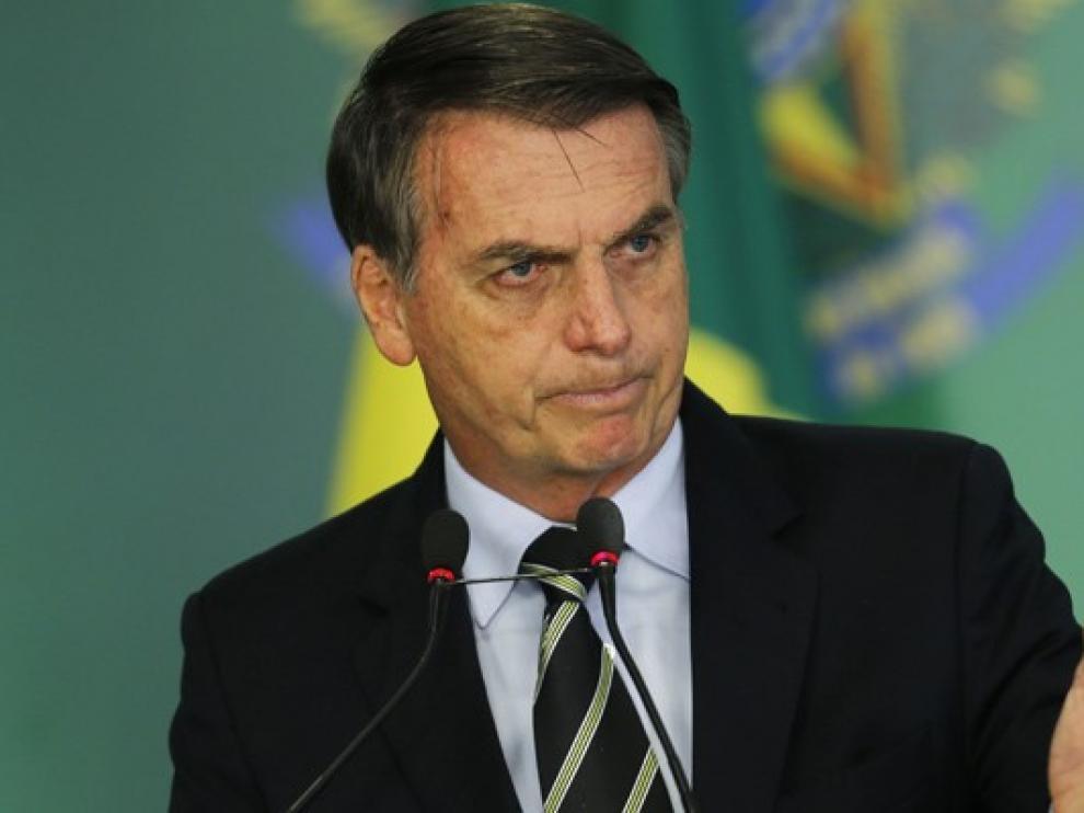 Jair Bolsonaro busca una solución permanente para los incendios