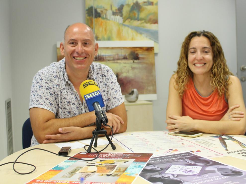 """""""Variedad temática"""" en el Pórtico Cultural de Binéfar"""