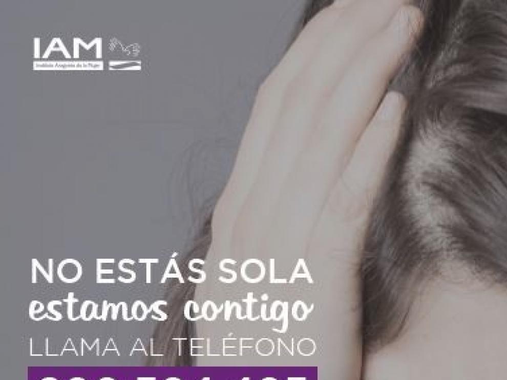 La 'guardia psicológica' del IAM atendió a 143 mujeres maltratadas en 4 meses