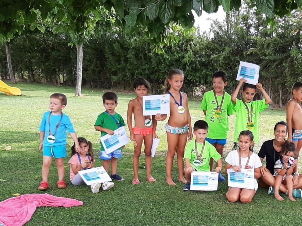 Los cursos de natación y actividades acuáticas de la Litera ganan adeptos