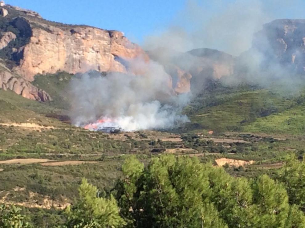 Los incendios forestales en el Alto Aragón responden en su mayoría a negligencias y accidentes