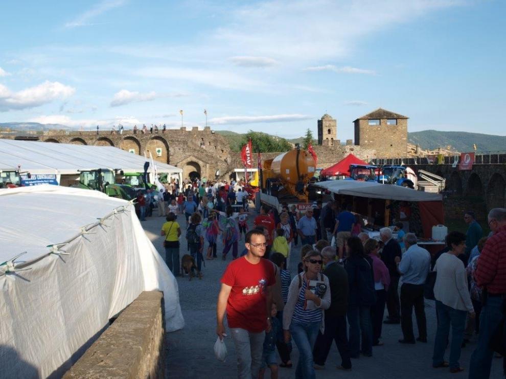 Aínsa acogerá la Expoferia del 6 al 8 de septiembre