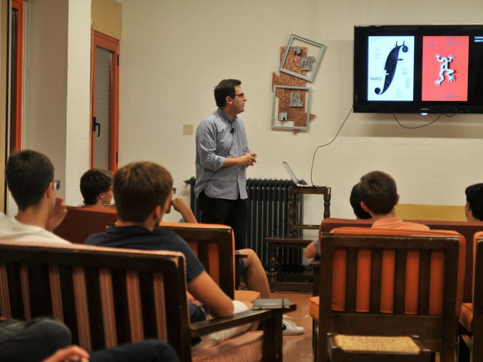 """Jorge Sebastián Lozano: """"La creatividad es el modo de divertirse de la inteligencia"""""""