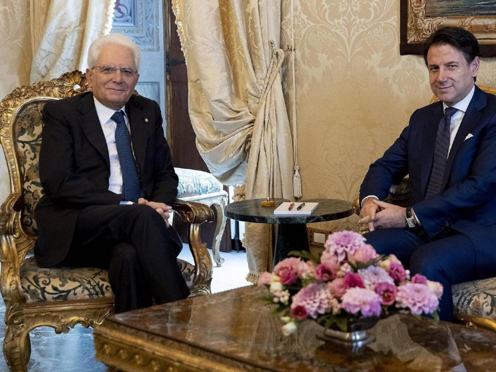 Mattarella encarga a Conte la formación de Gobierno tras el acuerdo entre M5S y PD en Italia