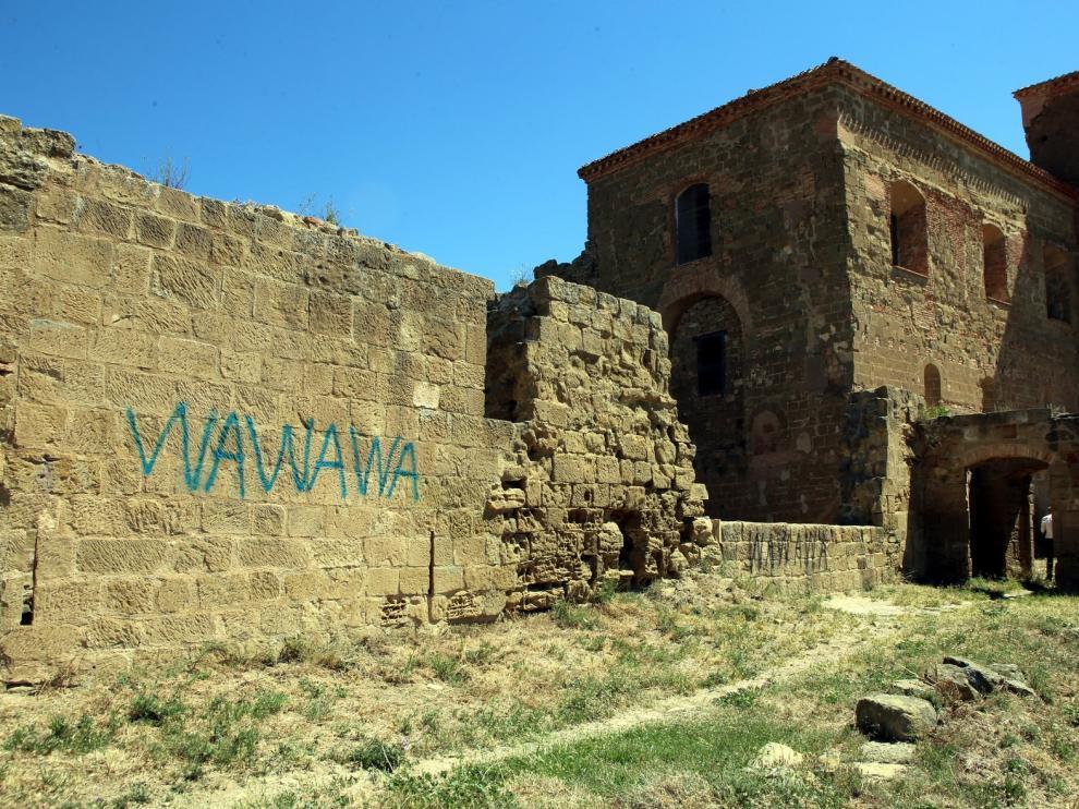 Chunta lleva al Senado el retraso en las obras del castillo de Montearagón
