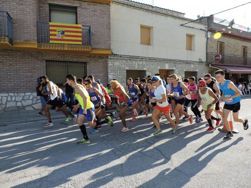 Said Aitaddi gana la Pedestre de San Agustín en Bujaraloz