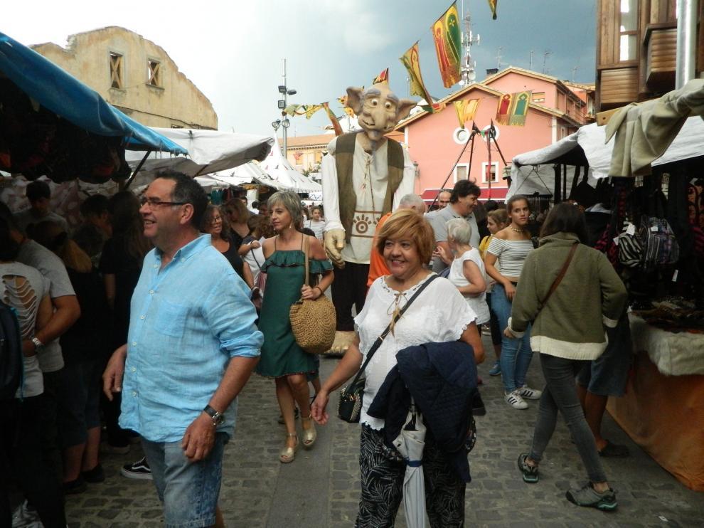El Mercado Medieval de Jaca consigue una buena afluencia